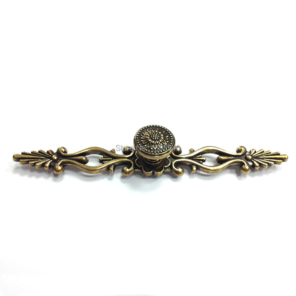 New 128mm Antique Cabinet Kitchen Handles Knobs Euro Style