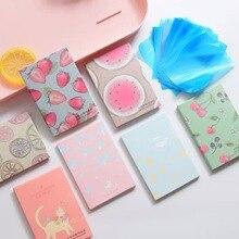 Папиросные бумаги Макияж Очищающее масло Абсорбирующая маска для лица Корея прекрасный мультфильм