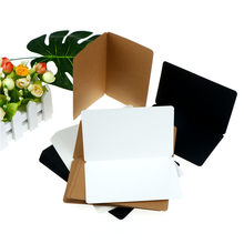 Wholesale 12Sheets Greeting Card Kraft Paper Postcard Vintage Blank Postcards DIY Hand Painted Graffiti Message Card 18.7*15cm(China)