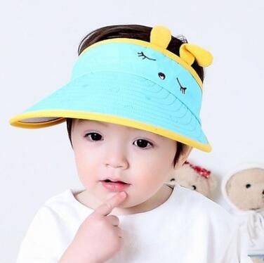 2018 Fast shipping YaraTui style UA1-UA4 the summer sun hat simple leisure hat edge folding washing basin hat cap summer can be folded anti uv sun hat sun protection for children to cover the sun with a large cap on the beach bike travel