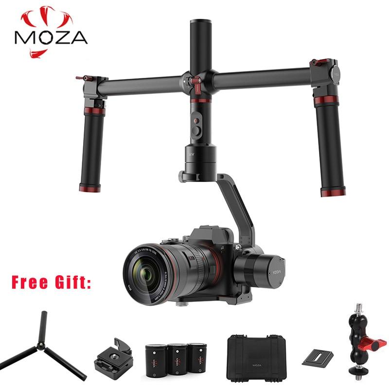 купить MOZA Air 3-Axis Handheld Gimbal Stabilizer Dual Handheld Grip 360 Degree Unlimited for Sony A7 Canon EOS 5D Mark Panasonic по цене 36650.65 рублей
