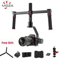 MOZA Air 3 оси ручной Gimbal стабилизатор двойная ручка 360 градусов Unlimited sony A7 Canon EOS 5D Mark Panasonic