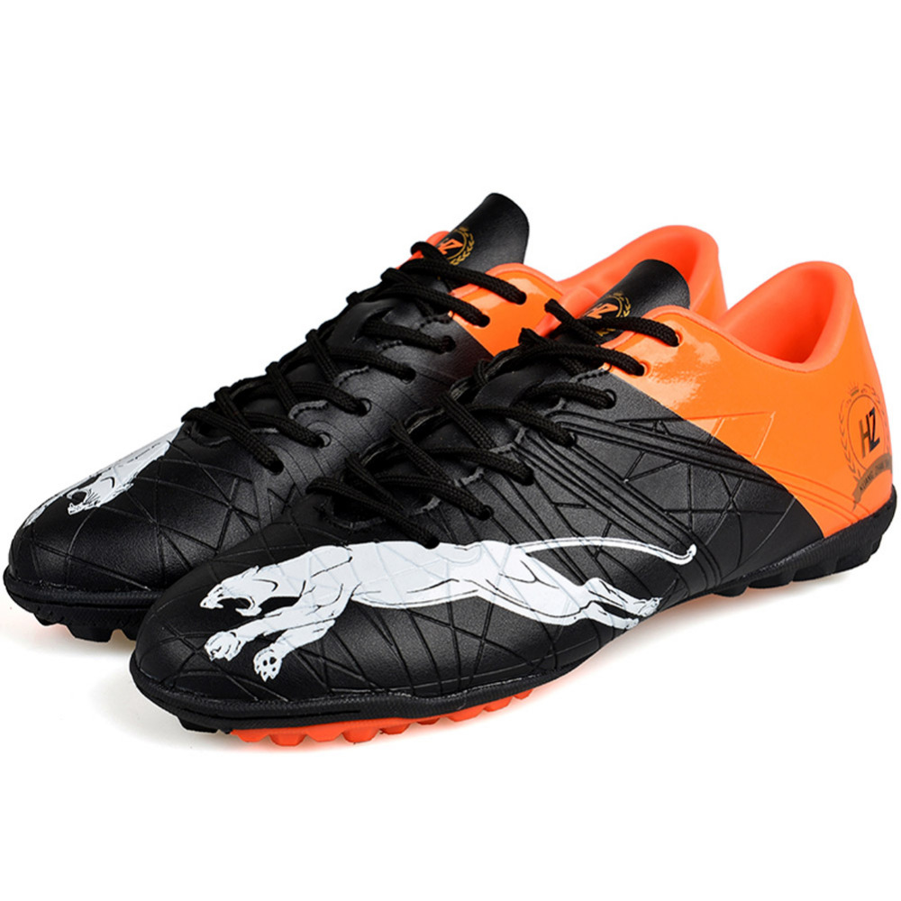7cb08b5e5 Aliexpress.com   Buy Men Professhional Soccer Cleats Boots Turf Football  Shoes Hard Court Outdoor Sneakers Trainers Adults Sport Shoes chuteiras  from ...