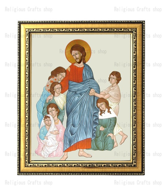 painting religious frames orthodox icons photo frame Christian gifts ...