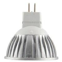 10pcs LED Bulbs 12V 3W Ultra Bright MR16 LED Spotlight Bulb 30Watt Halogen Equivalent Warm White
