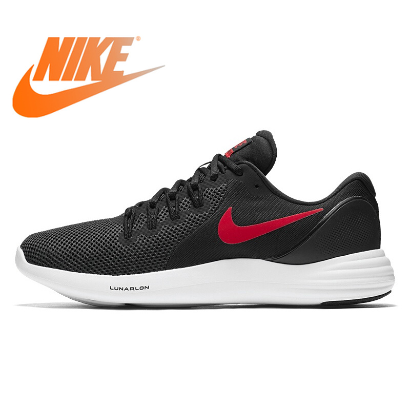 Original NIKE LUNAR APPARENT Men's Running Shoes Sneakers Breathable Low Top Outdoor Sport Shoes for Men Brand Designer 908987