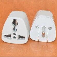 1 pièces consommateur convertisseur d'adaptateur universel électronique 3 broches AC adaptateur de prise de courant connecteur adaptateur de prise de courant de voyage