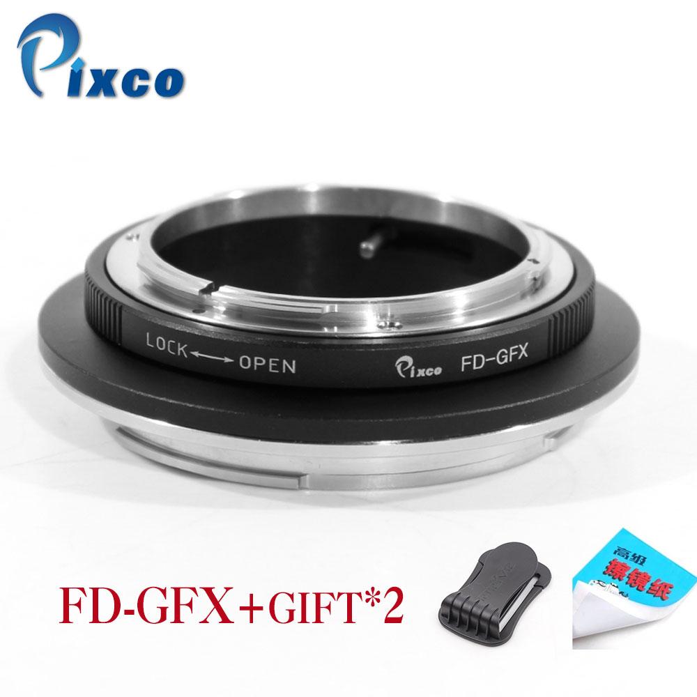 Pixco FD GFX Lens Adapter Suit for Canon FD Mount Lens to Fujifilm G Mount GFX