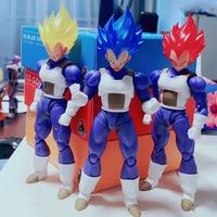New Demoniacal Fit Super Saiyan God SSJ Blue Custom Headsculpt Head And Hair Set Accessories for SHF goku & vegeta