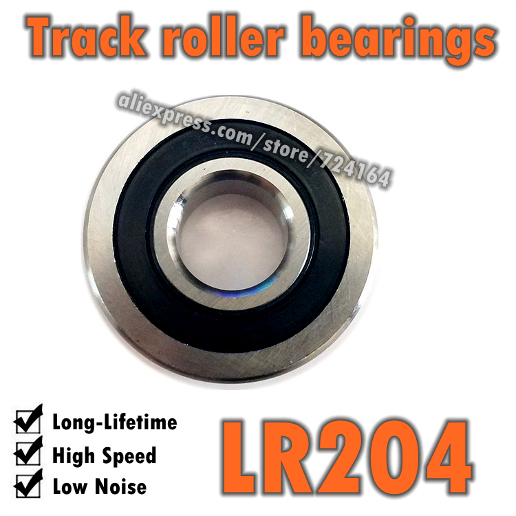 Track Rollers Ball Bearings 17x47x12:Sealed