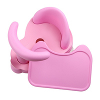 Anti Slip Chair Non slip Baby Care Bath Accessory New Baby Bath Tub Ring Seat Infant Child Toddler Kids