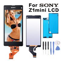 Original 4 3 LCD For SONY Xperia Z1 Compact Display Touch Screen Digiziter For SONY Xperia