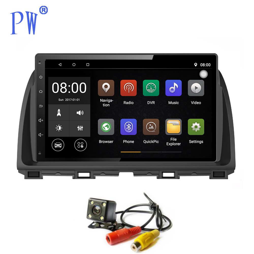Android 7.1 Car GPS Radio <font><b>Navigation</b></font> for <font><b>Mazda</b></font> <font><b>CX5</b></font> CX-5 Audio Car Multimedia Player Touch Screen Stereo Navi Steering Wheel Con image