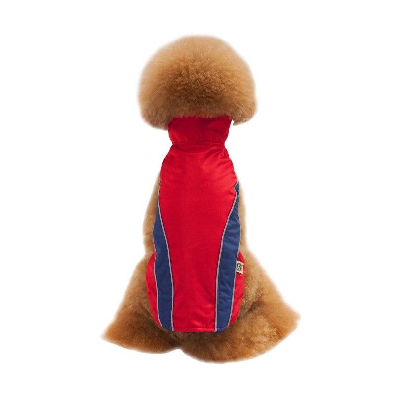 2017 Vestiti Del Cane Inverno Cane Trapuntato Cappotto Idrorepellente Inverno Pet Dog Jacket Vest Retro Cozy Warm Pet Outfit Abbigliamento