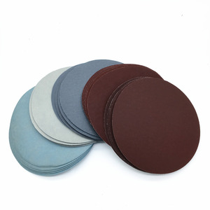 Image 3 - 30ps 125mm /5 Inches Grit 1000 /1500 /2000 /3000/ 5000/ 7000 Sanding Discs Hook Loop Sandpaper Round Sandpaper Disk Sand Sheet
