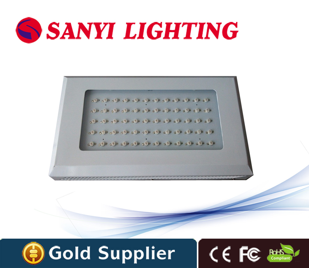square 60w plant grow light red blue with CE FCC RoHS certification for indoor greenhouse plants