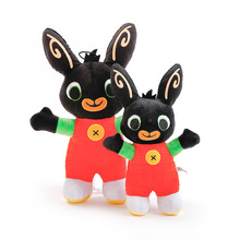 Bing Bunny Sula Bing Plush Bunny Toy Flop Doll Toys Hoppity Voosh Stuffed Animal Pando Rabbit Toys For Children Christmas Gifts xukim jewelry bing bing gold halloween top
