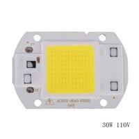 20 w 30 w 50 led módulo 220 v led cob lâmpada chip entrada ip65 inteligente ic apto para diy led luz de inundação módulos led