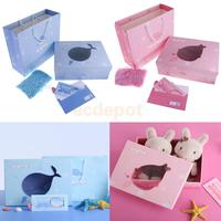 Delicate Marine Theme Children's Day Gift Box Party Bag Cards Favor Sets