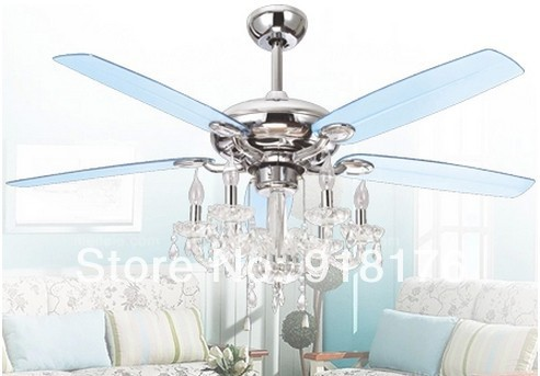 Mediterranean ceiling fan light lamp 52 inch fashion european style mediterranean ceiling fan light lamp 52 inch fashion european style luxury crystal chandelier fan sg626 aloadofball Images