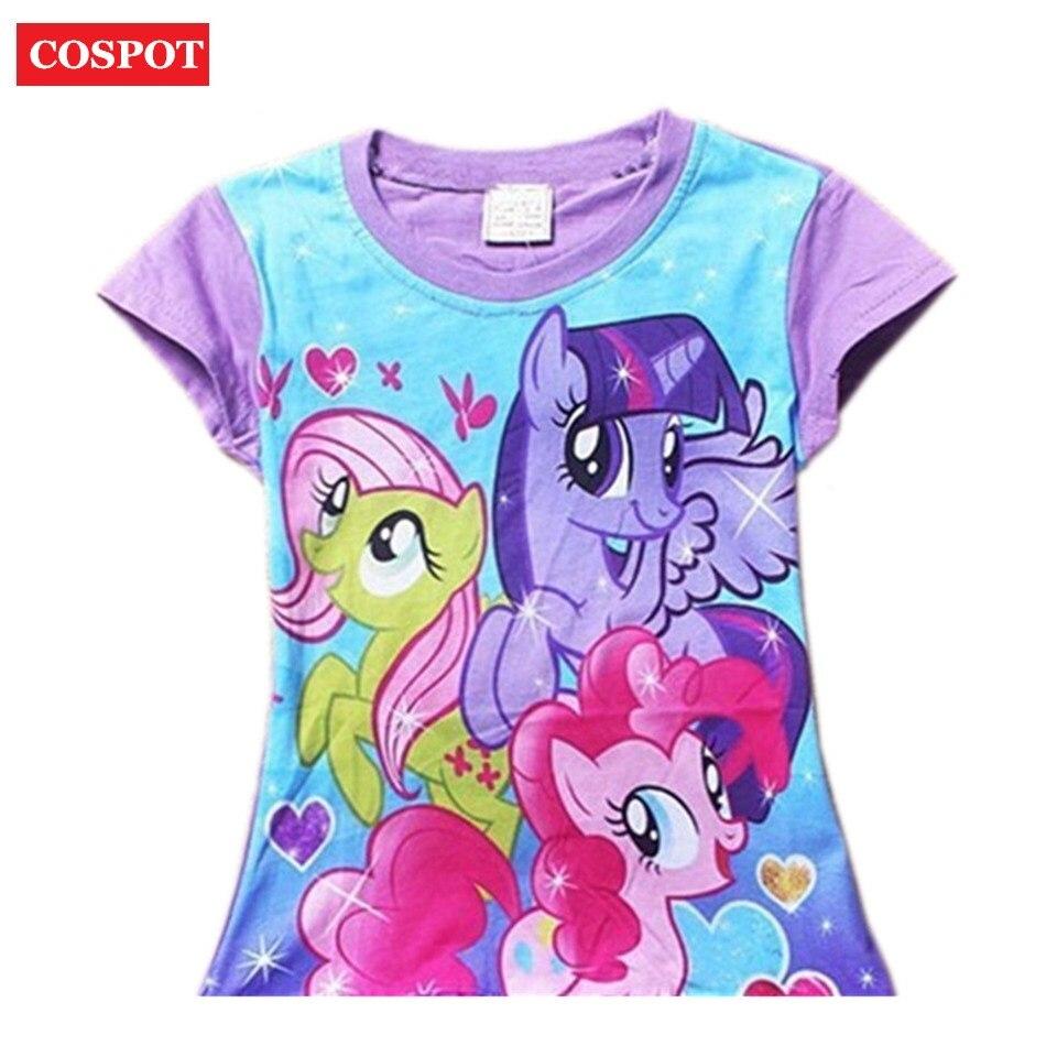 Cospot baby girls summer t shirt shirt girl cute cotton for Newborn girl t shirts