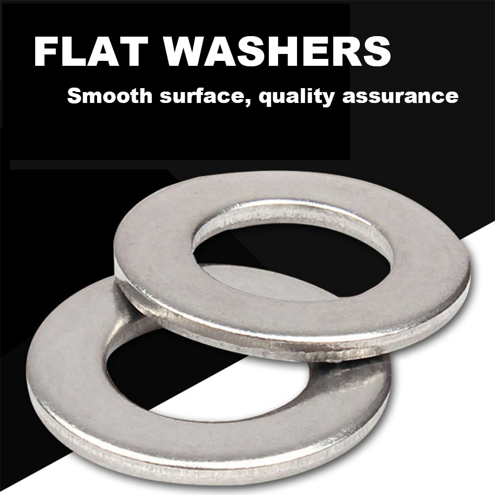 The Hillman Group The Hillman Group 3742#3 Stainless Steel Flat Washers 100-Pack