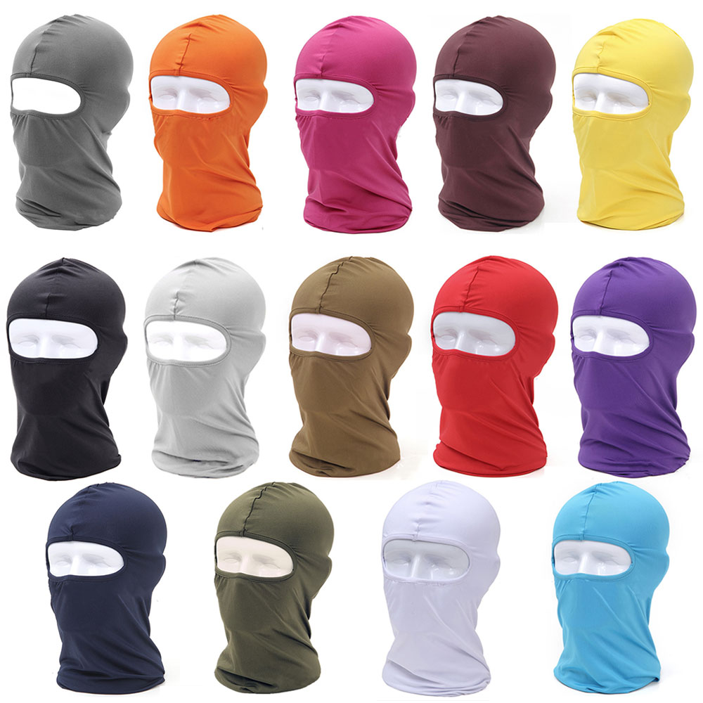 MTB Bike Bicycle Cycling Face masks Outdoor Head Neck Balaclava Full Face Mask Cover Hat Protection Multi Colors full face lycra protection balaclava headwear neck cycling motorcycle mask