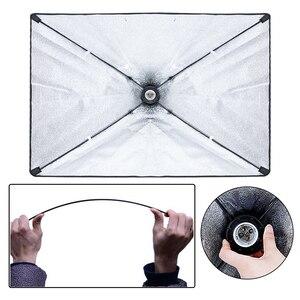 Image 3 - Photography Softbox Light kit 20W E27 LED Photo Light Box for Flash Studio Light Camera Lighting Equipment With Carry Bag