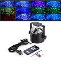 ДИУ # Мини 120 градусов RGB LED Кристалл Magic Ball Стадия Эффект Лампы освещения Партии Дискотека DJ Bar Световое Шоу 100-240 В US Plug
