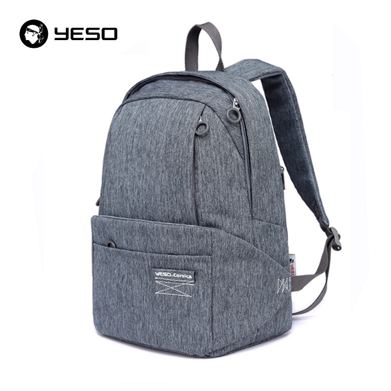 YESO Brand Anti-theft Backpack Men Large Capacity Waterproof Backpack Bags For Women 2018 Fashion Casual Oxford Bagpack Mochilas