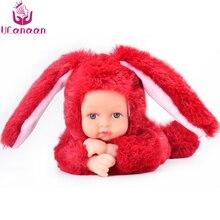 UCanaan 25 см плюшевые куклы Животные игрушки для детей мультфильм мягкие животные Анжела плюшевые игрушки спящие куклы для детей