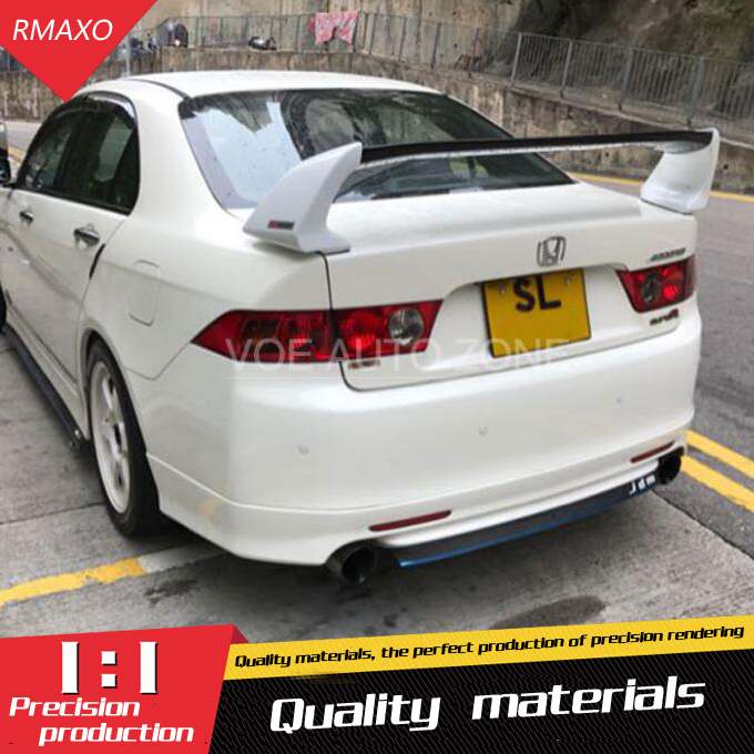 For ACCORD Spoiler ABS Material Car Rear Wing Color Rear Spoiler For For For HONDA EURO
