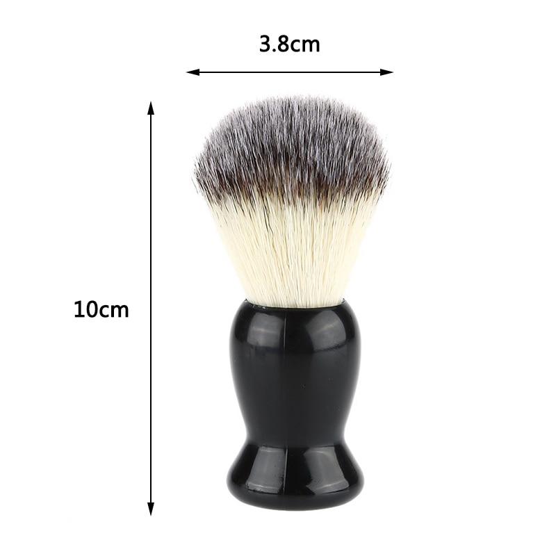 Men Beard Soft Comb Pocket Size Bristle Beard Brush Hairdresser Cleaner Brush Pocket Beard Comb Cleaner Brush in Shaving Brush from Beauty Health