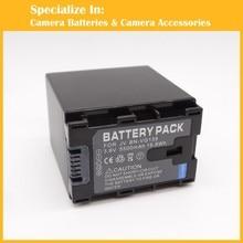 3.6 v 5500 mah bn-vg138 cámara conjunto cargador de batería para jvc everio gz-ms150bus gz-ms150he gz-ms150heu gz-ms150vus