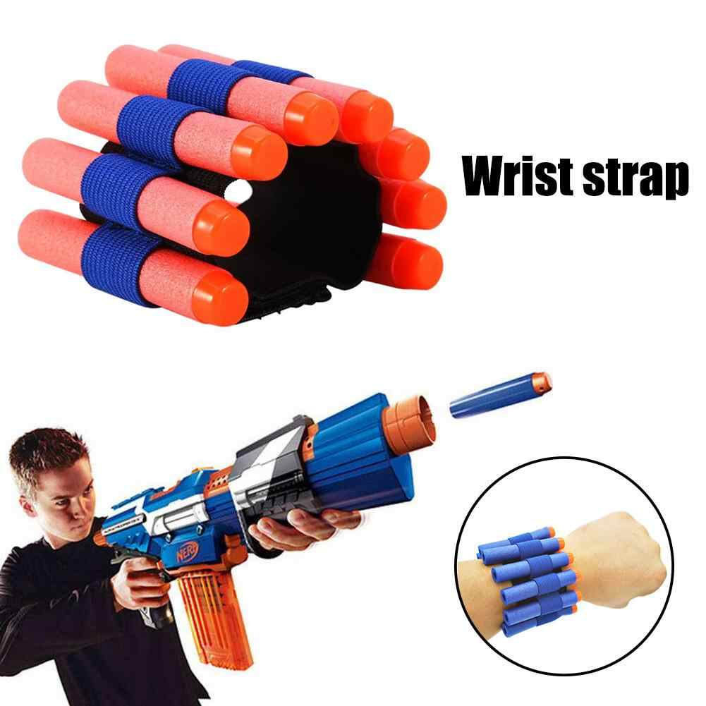 Airsoft Air Guns Toy Gun Wristband Soft Stretch For Shooting Game Adjustable Wrist Straps Elastic Band Guns Accessories For Kids