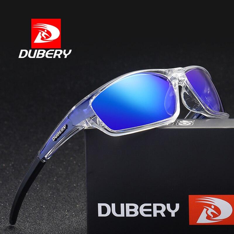 DUBERY Polarisierte Sonnenbrille Männer Fahren Sport Sonnenbrille Für Männer Frauen Platz Farbe Spiegel Luxus Marke Designer Shades Oculos
