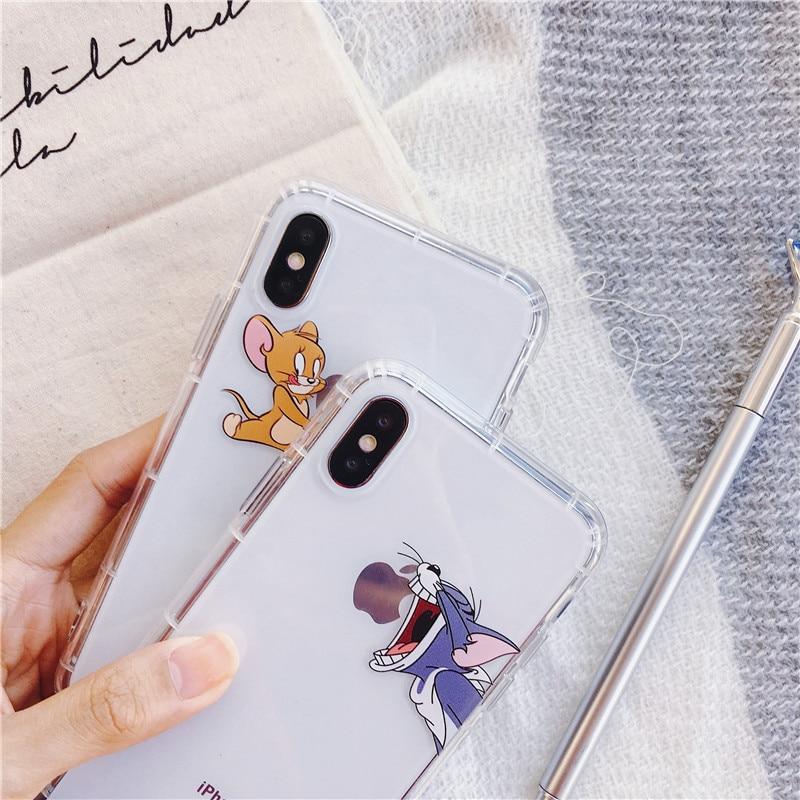 JEKASS Cute Stitch Phone Case For iPhone 7 8 8plus Case Air