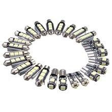 26 шт. белый автомобиль лампа LED интерьера SMD свет набор для Mercedes/Benz W211 E Class03-09 для DIY автомобиля -укладки Plug and Play