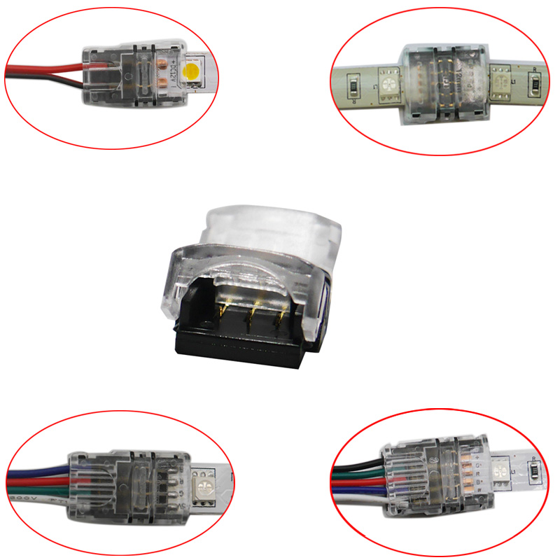 15CM 5pcs 3 pin RGB Connector Cable For WS2812B WS2811 3 pin LED