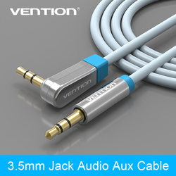 Vention 3 5mm 90 degree right angle headphone cable audio aux cables male to male digital.jpg 250x250