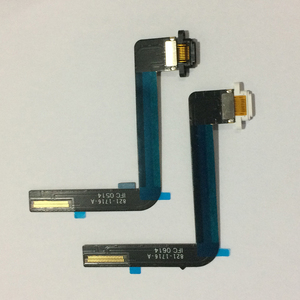 Image 5 - 10PCS For iPad 5 Air Original USB Charging Connector Dock Charger Port Flex Cable Ribbon Black / White Replacement Repair Parts