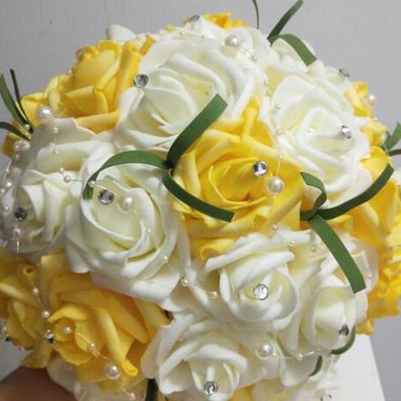 Bouquet Sposa Rose Avorio.Bouquet Da Sposa Da Sposa Damigella D Onore Del Fiore Blu Viola