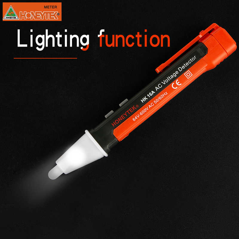 Induction Voltage Tester Non-Contact Voltage Tester Pen AC Voltage Detector  Electrical Tools Pen Type Voltage Finder