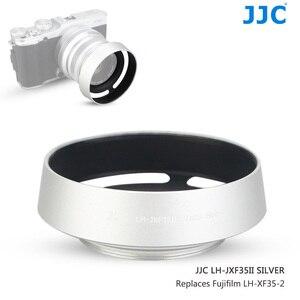 Image 1 - JJC En Métal Caméra Lentille Hotte Vis pour Fujifilm XF 35mm f/2 R WR Sur X T4 X T200 X A7 Xpro3 Xpro2 Remplace Fujifilm LH XF35 2