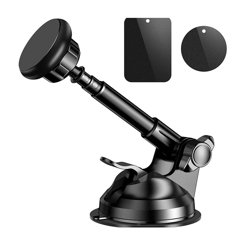 Magnetic Phone Holder for iPhone X/8//7/Plus Samsung Universal Car phone Holder Car Windshield Dashboard Mount With Cradle