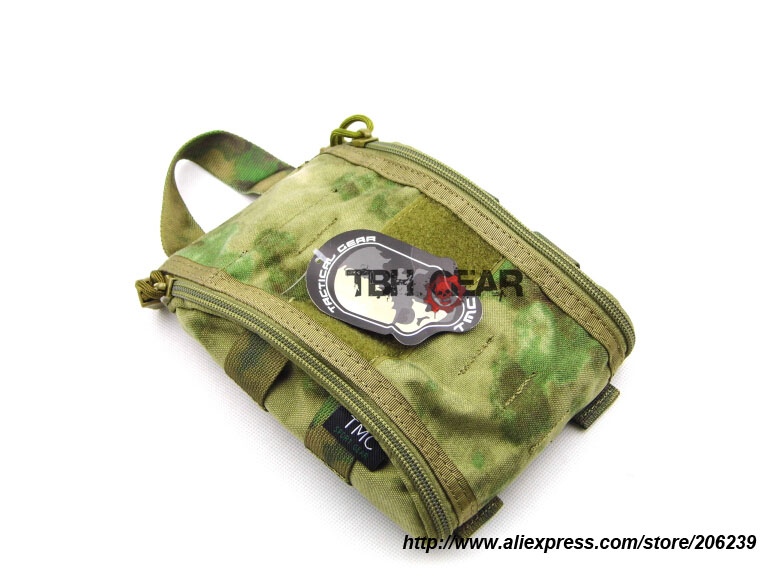 TMC Trauma Kit Pouch MOLLE A-TACS FG Camo Pouch Tactical Medical Pouch+Free shipping(SKU12050749) ...