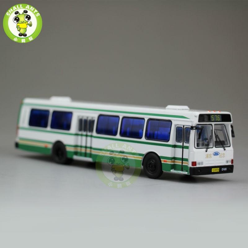 1:76 American Flxible Bus China ShangHai KwoonChung No.576 Diecast Bus Car Models