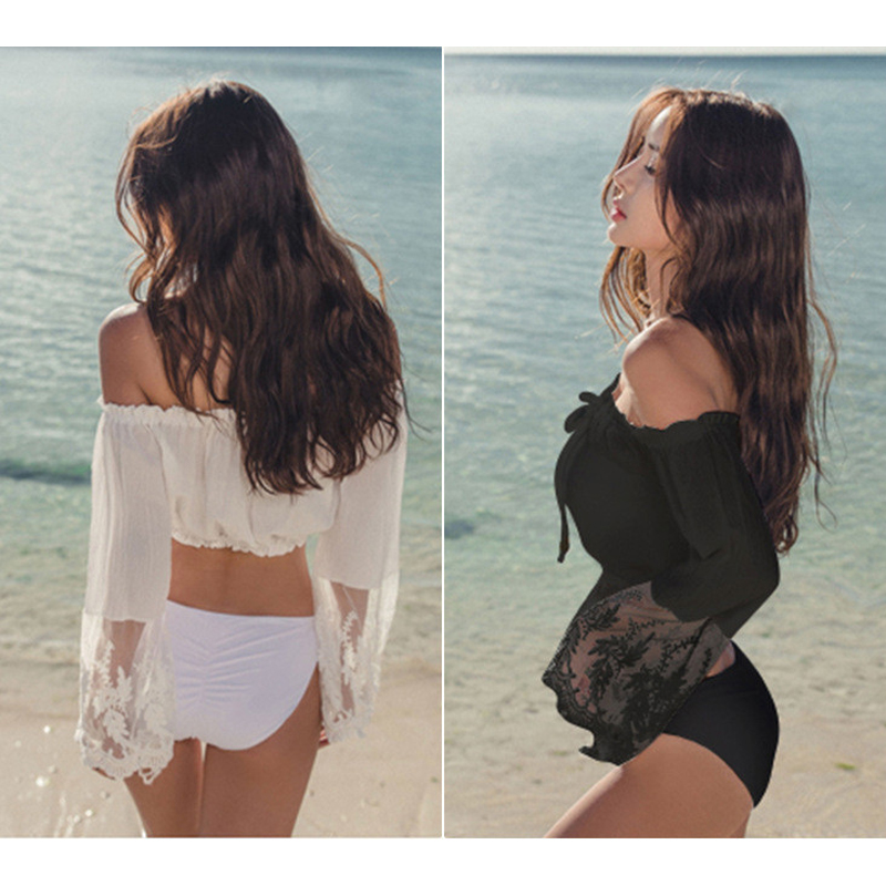 Swimming Suit For Women Split Swimwear 2018 Swim Suits Cute Sports Bather Female Tankini Swimsuit Bathing Clothes Two Pieces