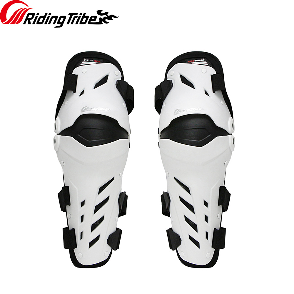 Image 3 - 3 colors PRO BIKER 2018 Motorcycle knee protector Knee sliders  motosiklet knee Protective Gear Protector Guards KitMotorcycle  Protective Kneepad   -