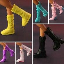 4ec67509 2018 Moda Nowy Długie Buty Buty Dla Lalka Barbie Mieszane kolorowe Lalki  Akcesoria 15 styl dostępne